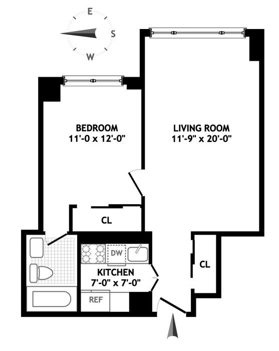 160 East 38th Street, Midtown East, NYC, $390,000, Web #: 1195076