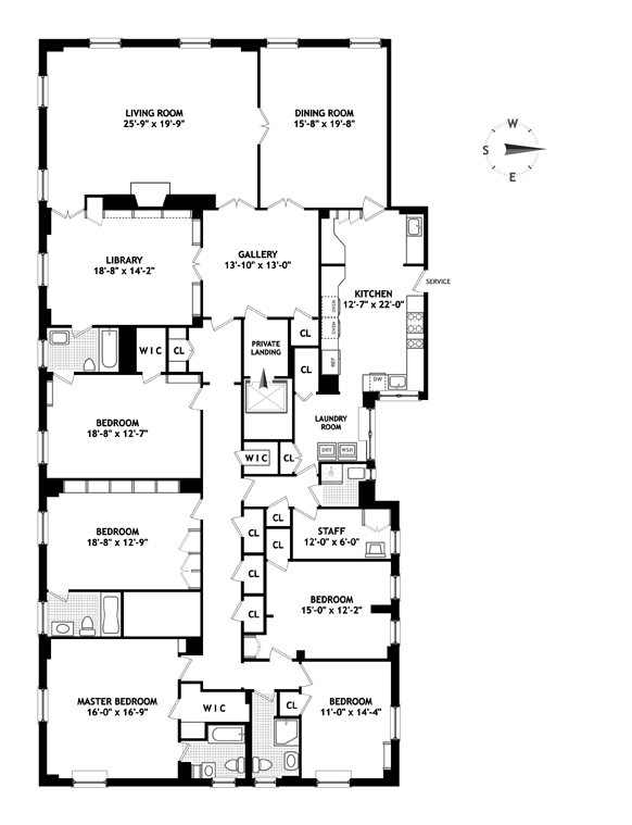 1120 Fifth Avenue, Upper East Side, NYC, $15,601,000, Web #: 11981555