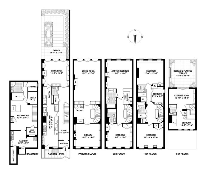 154 East 66th Street, Upper East Side, NYC, $10,000,000, Web #: 11982104