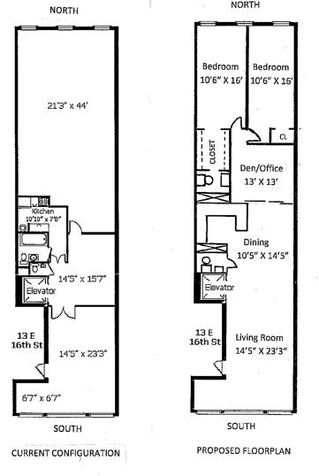13 East 16th Street, East Village, NYC, $1,740,000, Web #: 1200166