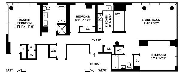 2628 Broadway, Upper West Side, NYC, $1,915,000, Web #: 1201384
