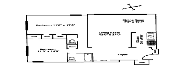 900 West 190th Street 8N, Hudson Heights, NYC, $650,000, Web #: 12035307