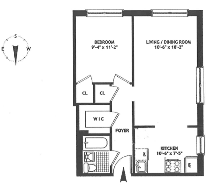 38 Gramercy Park North 5E, Midtown East, NYC, $3,800, Web #: 12071575