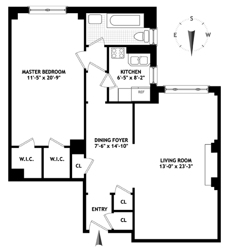 1150 Park Avenue, Upper East Side, NYC, $670,000, Web #: 1207741
