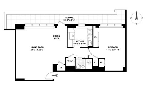 239 East 79th Street, Upper East Side, NYC, $865,000, Web #: 12084311