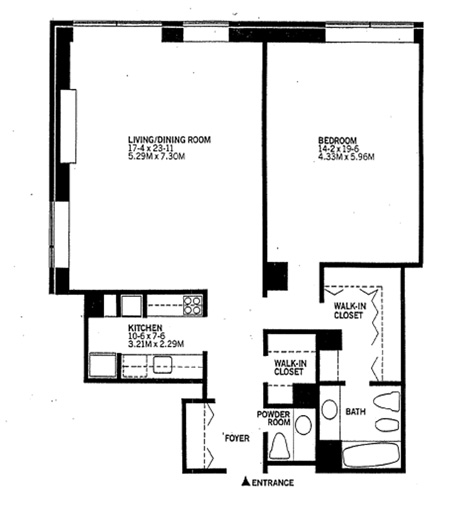15 West 53rd Street, Midtown West, NYC, $1,500,000, Web #: 1217115