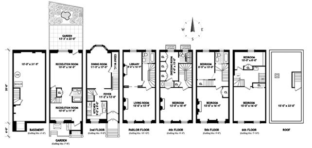Stuyvesant Street, East Village, NYC, $3,700,000, Web #: 1220335
