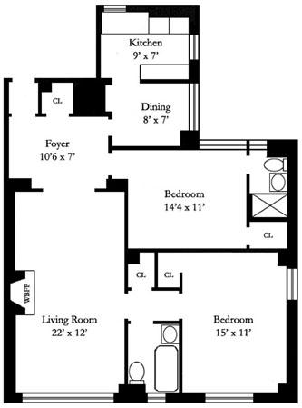 166 East 96th Street, Upper East Side, NYC, $985,000, Web #: 12204703