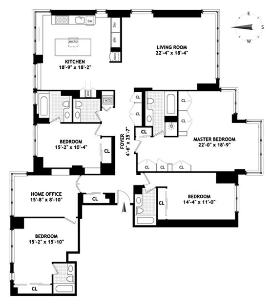 524 East 72nd Street, Upper East Side, NYC, $3,770,000, Web #: 1220966