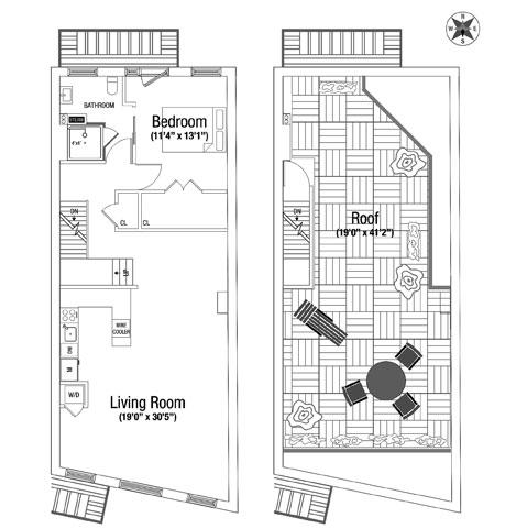 23 Prince Street Ph, Greenwich Village/NOHO/Little Italy, NYC, $9,000, Web #: 12254248