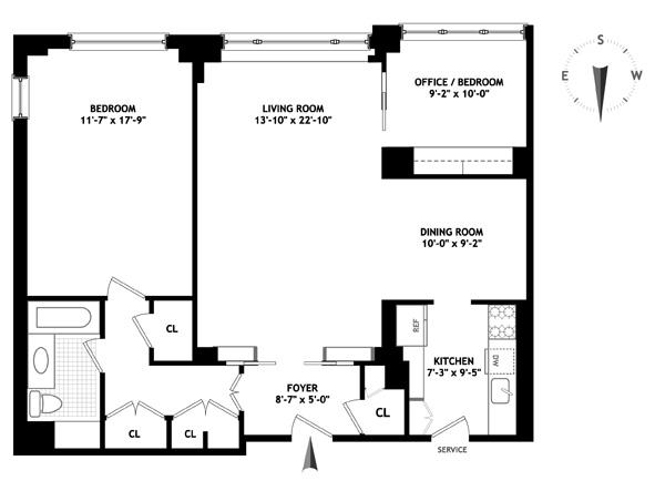 47 East 87th Street, Upper East Side, NYC, $750,000, Web #: 1225567