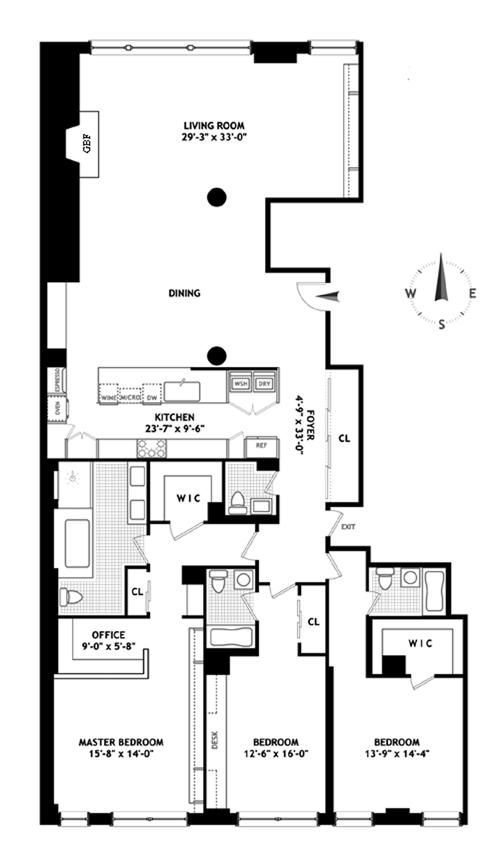 32 West 18th Street, Greenwich Village/Chelsea, NYC, $5,250,000, Web #: 12261479