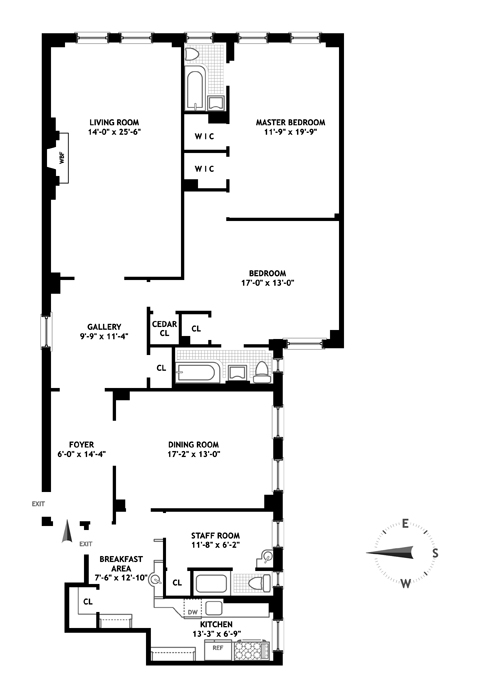 30 Beekman Place, Midtown East, NYC, $1,750,000, Web #: 12283043
