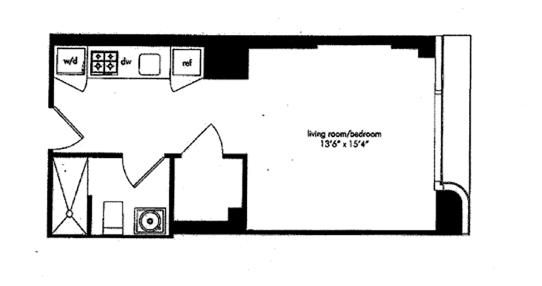 340 East 23rd Street, Flatiron/Gramercy Park, NYC, $545,000, Web #: 1229530