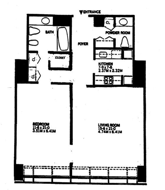 West 53rd Street, Midtown West, NYC, $4,000, Web #: 1229532