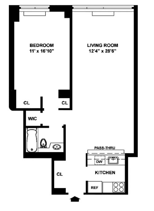 127 East 30th Street, Midtown East, NYC, $911,000, Web #: 12314696