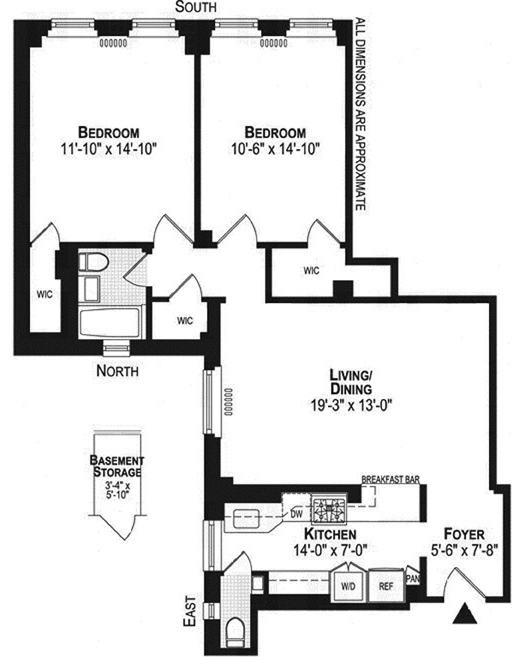 150 East 49th Street, Midtown East, NYC, $993,000, Web #: 12320882