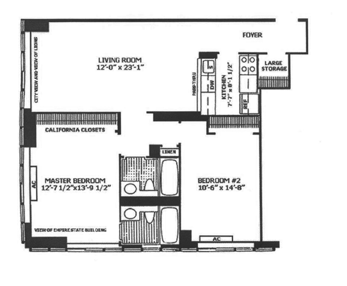 Fifth Avenue, Midtown East, NYC, $4,950, Web #: 12356012