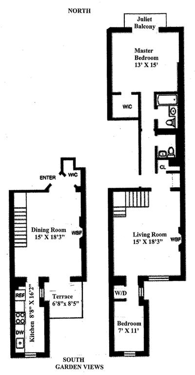 132 West 78th Street, Upper West Side, NYC, $2,225,000, Web #: 12388057