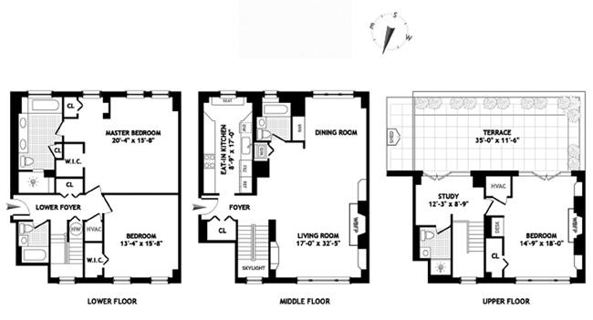 Leroy Street, West Village, NYC, $25,000, Web #: 12392330