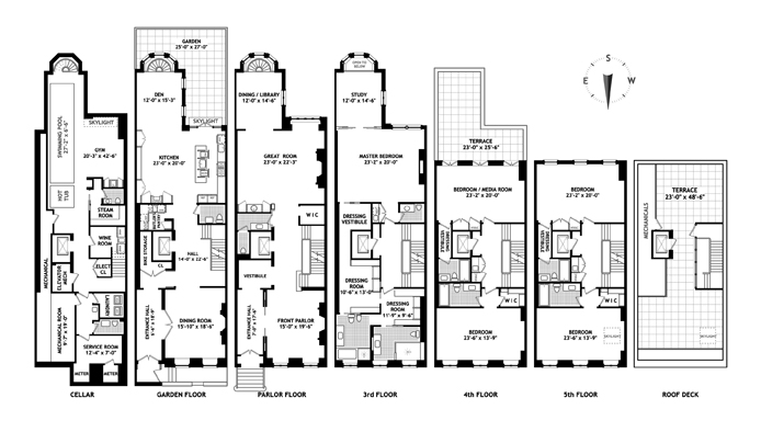 16 East 10th Street, East Village, NYC, $32,000,000, Web #: 12407999