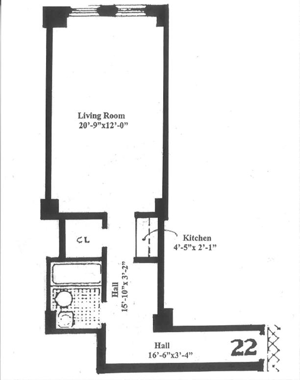 310 Riverside Drive, Upper West Side, NYC, $350,000, Web #: 12425625