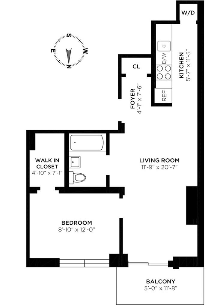 West 30th Street, Midtown West, NYC, $3,300, Web #: 12425724