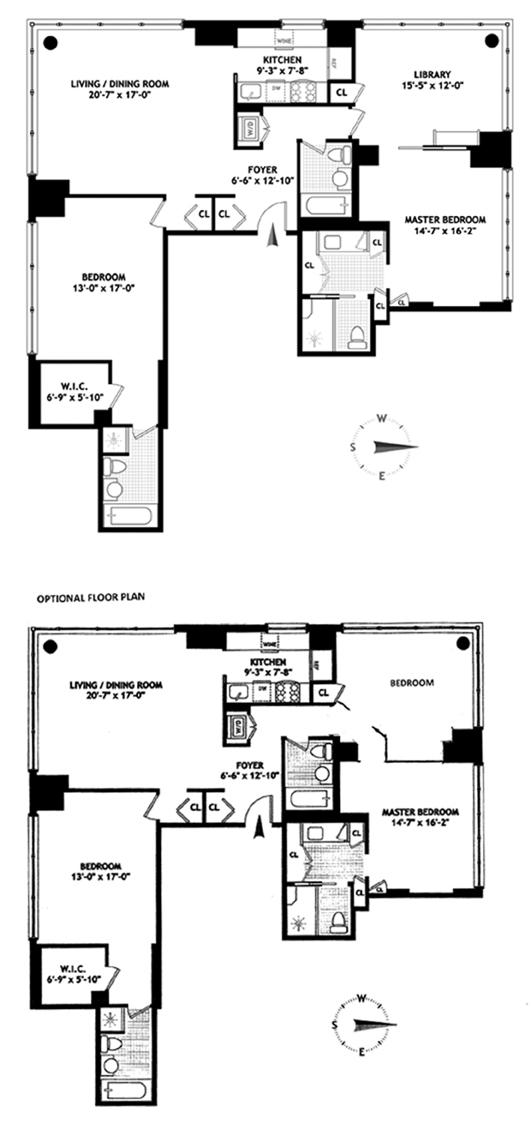 250 East 54th Street, Midtown East, NYC, $2,600,000, Web #: 12462295