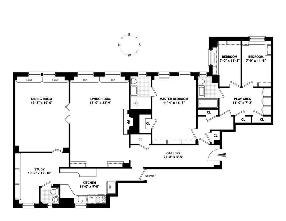 1105 Park Avenue, Upper East Side, NYC, $2,925,000, Web #: 12462412