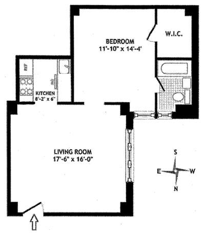 157 East 72nd Street, Upper East Side, NYC, $730,000, Web #: 12463271