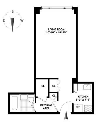 301 East 22nd Street, Flatiron/Gramercy Park, NYC, $225,000, Web #: 1248533