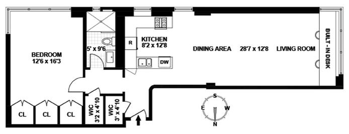 7 Lexington Avenue, Flatiron/Gramercy Park, NYC, $1,425,000, Web #: 12578082