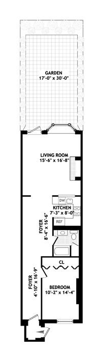 450 West 20th Street, Greenwich Village/Chelsea, NYC, $875,000, Web #: 1259910