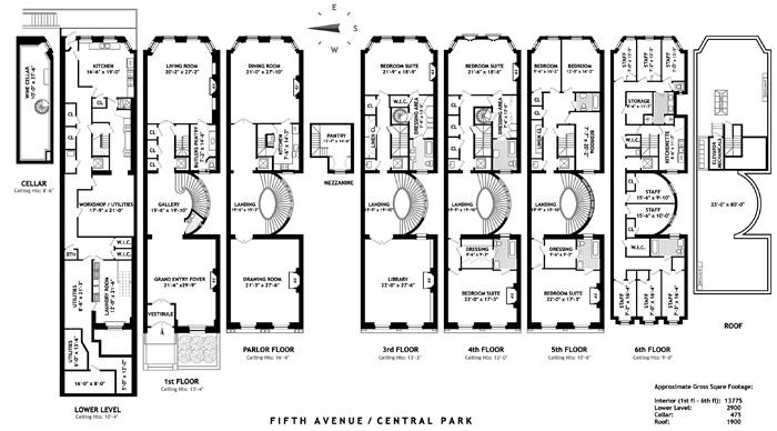 Fifth Avenue, Upper East Side, NYC, $42,000,000, Web #: 1264274
