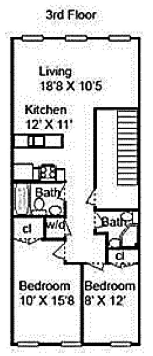 147 Saint James Place, Brooklyn, New York, $3,500, Web #: 12683854