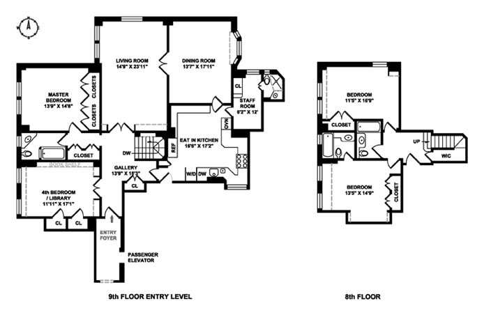 1000 Park Avenue, Upper East Side, NYC, $4,350,000, Web #: 12757458