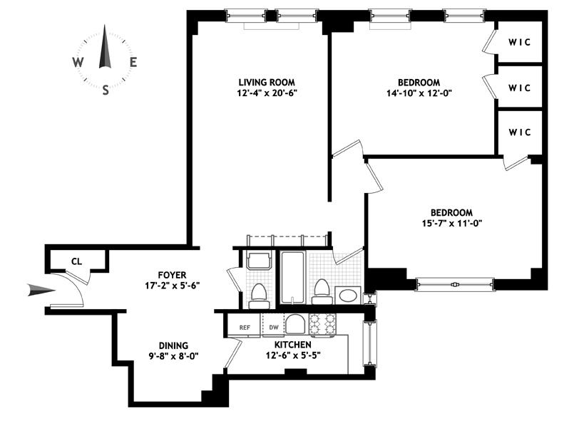 60 Gramercy Park, Flatiron/Gramercy Park, NYC, $1,800,000, Web #: 13035108