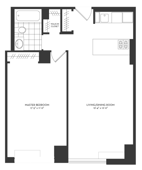 Rector Place, Battery Park City, NYC, $3,400, Web #: 13149779