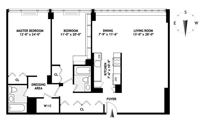 315 West 70th Street, Upper West Side, NYC, $1,250,000, Web #: 13190874