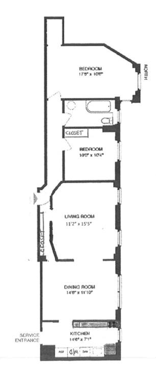790 Riverside Drive, Washington Heights, NYC, $645,000, Web #: 13264010