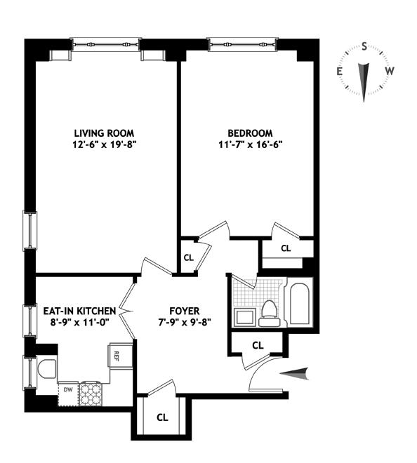 120 East 79th Street, Upper East Side, NYC, $810,000, Web #: 13287856