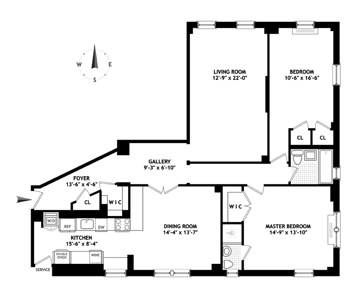 1235 Park Avenue, Upper East Side, NYC, $1,900,000, Web #: 13325539