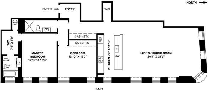 226 Lafayette Street, Greenwich Village/NOHO/Little Italy, NYC, $15,000, Web #: 13355666