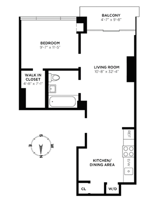 West 30th Street, Midtown South, NYC, $3,300, Web #: 13379635