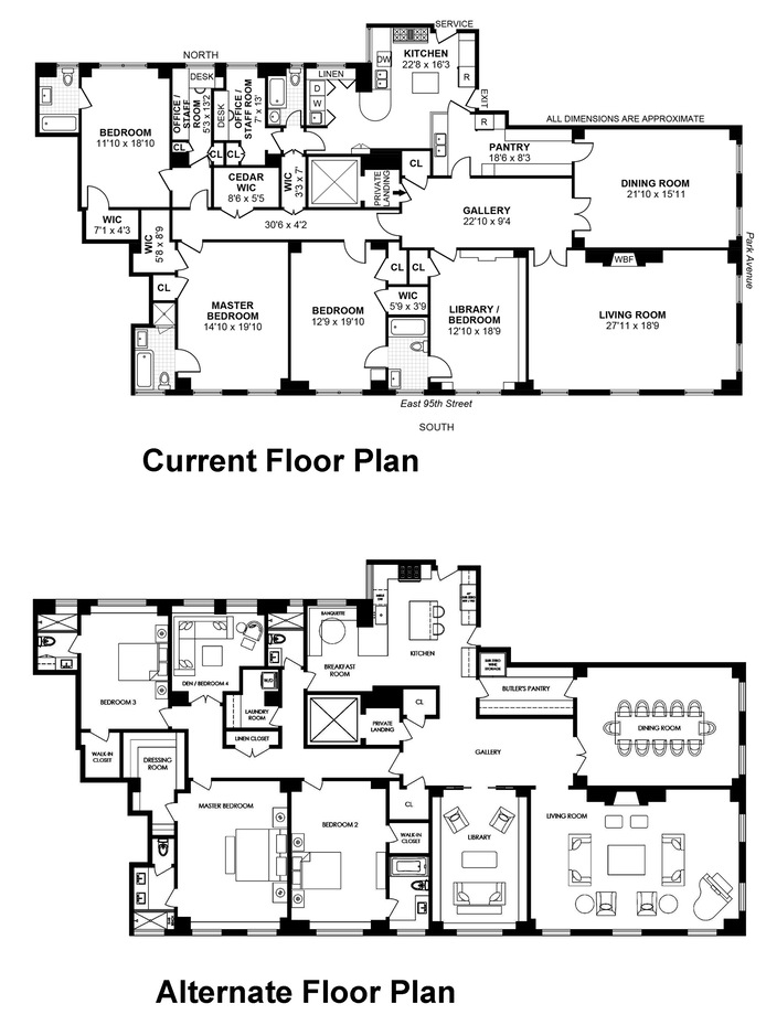 1220 Park Avenue, Upper East Side, NYC, $5,700,000, Web #: 13524154