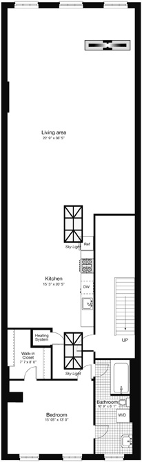 56 Lispenard Street Ph, Tribeca/SOHO/Chinatown, NYC, $6,500, Web #: 13612462