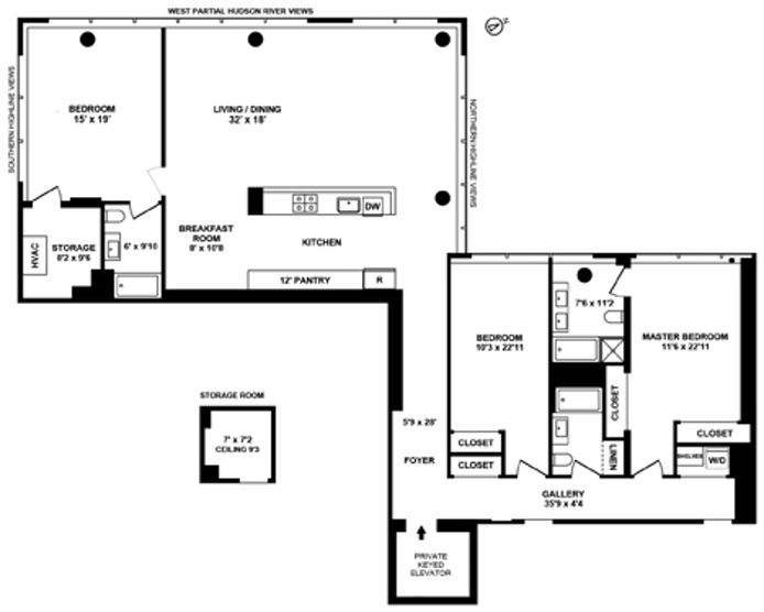 245 Tenth Avenue, Midtown South, NYC, $14,000, Web #: 13636577