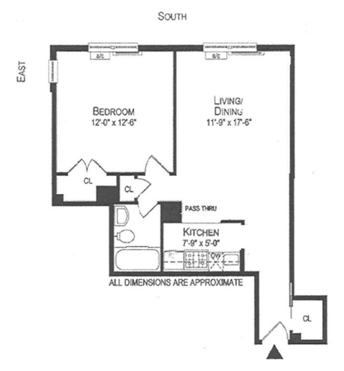 88 Bleecker Street, Greenwich Village/Chelsea, NYC, $625,000, Web #: 13685921