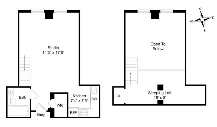 226 East 2nd Street, East Village, NYC, $550,000, Web #: 13686494