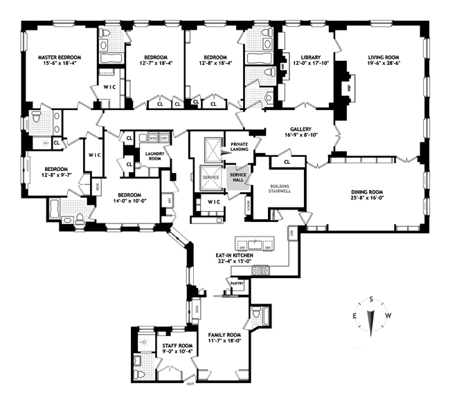 1040 Fifth Avenue, Upper East Side, NYC, $32,000,000, Web #: 13774291